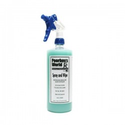 Poorboys Spray & Wipe 473ml